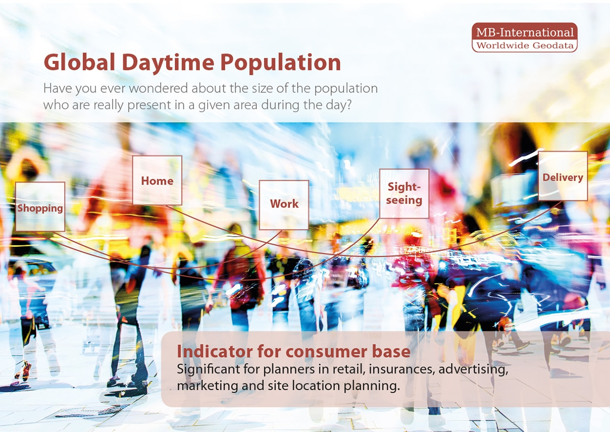 Global Daytime Population