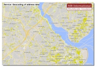 Service: Geocoding of address data