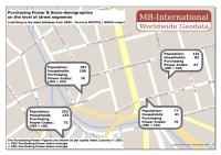 Purchasing Power & Socio-demographics on the level of street segments